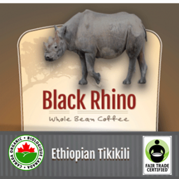 Fair Trade Organic Black Rhino Ethiopian Tikikili | 12oz